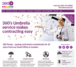marketing agency watford examples of our work uxbridge amersham harrow specialist marketing for sme & b2b 360-group-umbrella-accounts