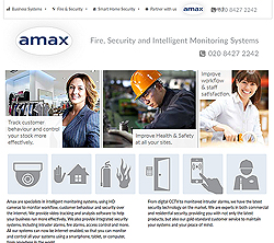 marketing agency watford examples of our work uxbridge amersham harrow specialist marketing for sme & b2b amax-fire-and-security