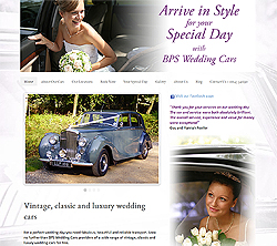 marketing agency watford examples of our work uxbridge amersham harrow specialist marketing for sme & b2b bps-wedding-cars