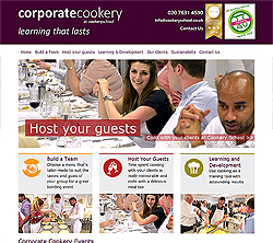marketing agency watford examples of our work uxbridge amersham harrow specialist marketing for sme & b2b corporate-cookery