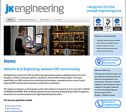 marketing agency watford examples of our work uxbridge amersham harrow specialist marketing for sme & b2b jk-engineering