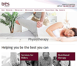 marketing agency watford examples of our work uxbridge amersham harrow specialist marketing for sme & b2b tres-health