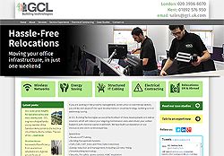 Marketing Agency Watford working for GCL Cabling London
