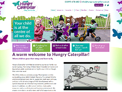 marketing agency watford examples of our work uxbridge amersham harrow specialist marketing for sme & b2b hungry-caterpillars-day-nurseries