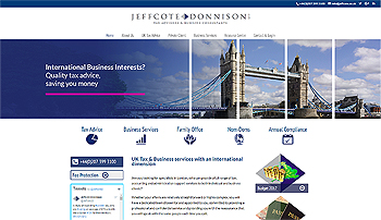 jeffcote donnison international tax specialists ryall marketing agency watford uxbridge slough amersham high wycombe london essential marketing