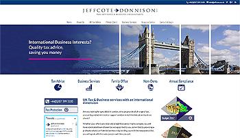 jeffcote donnison international tax specialists ryall marketing agency watford